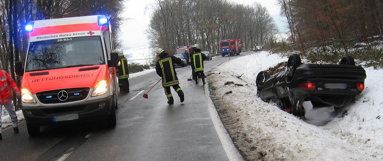 You are currently viewing Verkehrsunfall zwischen Holzfeld und Werlau