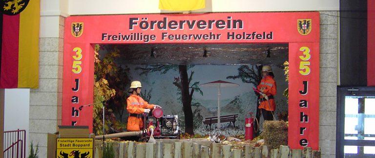 Jubiläum: 35 Jahre Feuerwehr Holzfeld